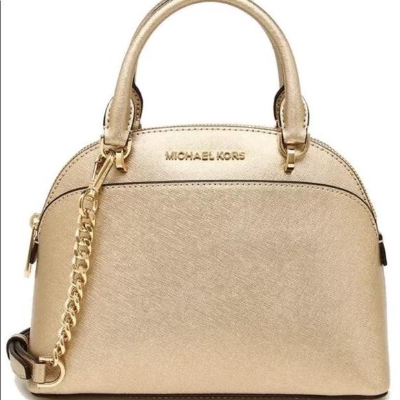 Michael Kors gold purse fe14ce94e14c4